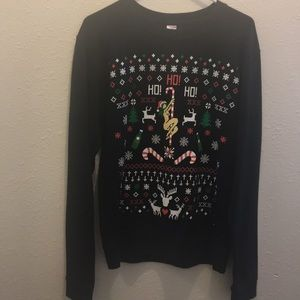 Sweaters - Ho ho Ho candy and stripper sweater